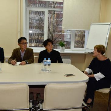 Встречаем гостей из Южной Кореи