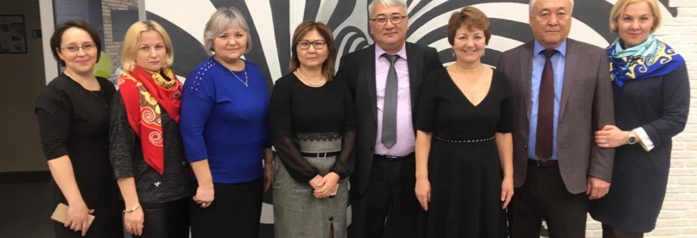 Прием делегации из Восточно-Казахстанской области