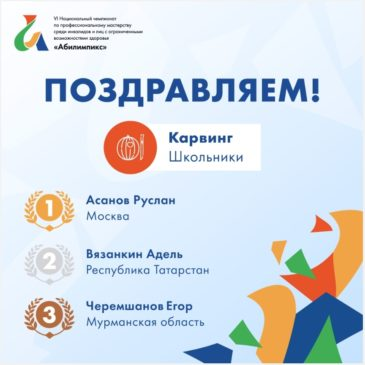 VI Национальный чемпионат «Абилимпикс»